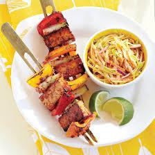 cuisine jamaicaine brochettes de tofu à la jamaïcaine coup de pouce