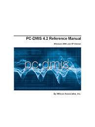 pc dmis 4 2 reference manual computer aided design tab gui