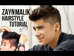 pinoy new haircut for men zayn malik one direction hairstyle tutorial men s style youtube