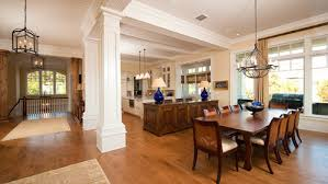 craftsman style open floor plans paint finish for pillars