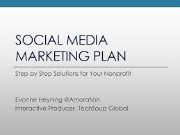social media marketing plan social media marketing strategy