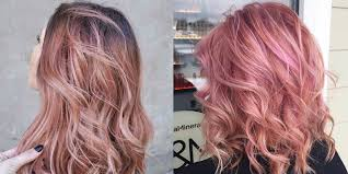 rose gold hair color rose gold hair is the latest hair color trend 12 pink hair shades