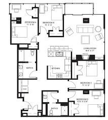 777 Floor Plan by Twelfth Floor Lucky Apartments