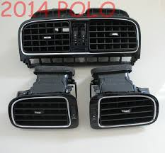for vw 2014 polo polo chroming dashboard air vents outlet piano
