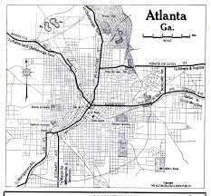 Map Of Atlanta Georgia Maps Perry Castañeda Map Collection Ut Library Online