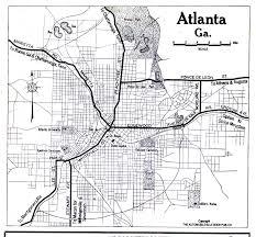atlanta city us map united states historical city maps perry castañeda map