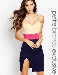 enlarge asos skater dress with cold shoulder and crochet lace