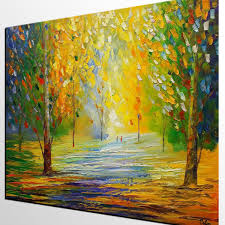 large wall art canvas art abstract landscape painting rustic
