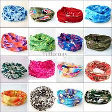 bandana wristband wholesale men women unisex hair wristband balaclava headscarf