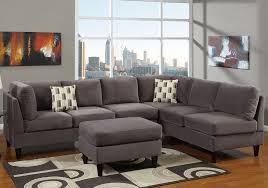 Gray Microfiber Sectional Sofa Outstanding Sectional Sofa Gray In Grey Microfiber Sectional Sofa