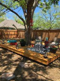 deck backyard ideas deck built around tree wish i had a tree to work with and do