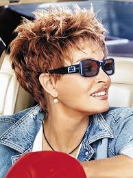 funky haircuts for fine hair short messy pixie cute hairstyle pinterest messy pixie