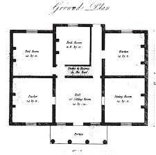 rural house plans 19th century historical tidbits 1835 house plans part 2