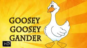 Gander by Goosey Goosey Gander Nursery Rhymes With Lyrics Cartoon