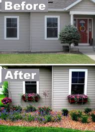 Front Curb Appeal - 17 easy and cheap curb appeal ideas anyone can do on a budget