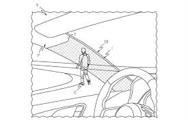 toyota go and see toyota patents cloaking device to help u0027see u0027 through car pillars