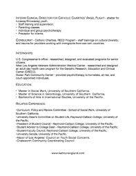 Msw Resume Resume
