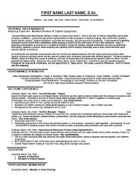 Sales Manager Resume Templates Regional Sales Manager Resume 23773