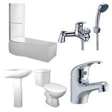 concert lh 1600 x 850 shower bath suite with orion bathroom set