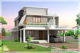 modern style house plans india house plan modern style home kerala plans dma homes bungalow