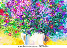 oil painting flowers stock images royalty free images u0026 vectors