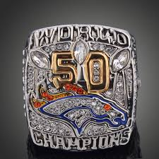 aliexpress buy 2015 new arrival mens ring fashion aliexpress buy new arrival 2015 denver broncos 50 bowl
