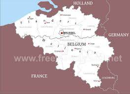 map of begium belgium political map