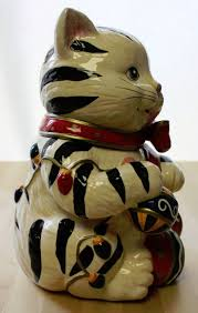 104 best cookie jars images on pinterest vintage cookies cats