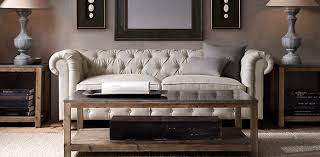 Chesterfield Sofa Restoration Hardware by Petite Kensington Restoration Hardware Couch Bedroom