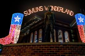 the christmas lights are on at kyle field good bull hunting