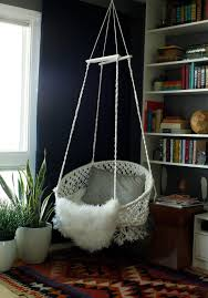 bedroom hanging chair diy hanging macramé chair