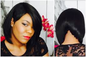 black hair 27 piece with sidebob shaved side a line bob youtube