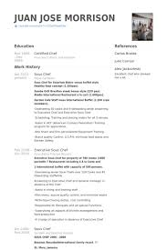 Sous Chef Resume Master Thesis Subjects Marketing Acting Resume Form Custom