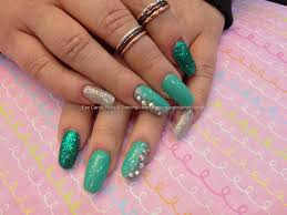nail designs green beautify themselves with sweet nails