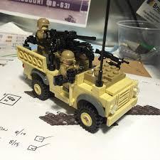 land rover lego wmik land rover take 2 lego legomilitary customlego flickr