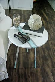 paint dipped coastal style end table redo u2022 our house now a home