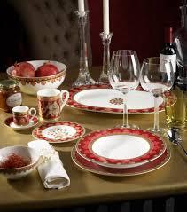 dining room plate sets brands villeroy u0026 boch in 10 frames samarkand rubin plate set