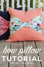 theme pillows best 25 bow pillows ideas on sewing pillows cheap