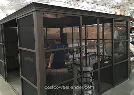 28 outdoor screen room screen rooms screen room enclosures outdoor screen room march 2016 costco weekender