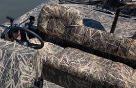 camo boat bench seat baby shower ideas