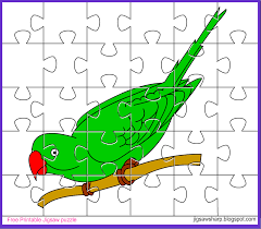 free printable jigsaw puzzle game bird jigsaw puzzle