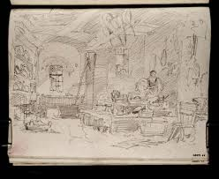 joseph mallord william turner u0027interior of a kitchen u0027 1802