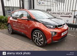 bmw birmingham bmw i3 electric car on display at a car dealers birmingham uk
