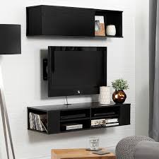 Modern Style Living Room by Furniture Tv Stands With Mount Walmart With Dark Painr Wall Mount