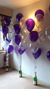 balloons for him birthday centerpiece ideas 50th decoration for simple at home