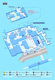 Bwi Airport Map Guide For Facilities In New York U0027s John F Kennedy International