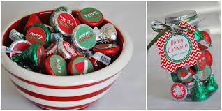 christmas candy gifts hersheycandyjars for volunteers diy christmas