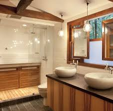 Rustic Cabin Bathroom - mid century modern rustic bathroom new bathroom pinterest