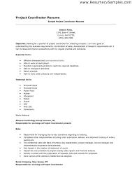 Project Coordinator Resume Sample Sample Resume Project Coordinator Project Manager Resume Keywords
