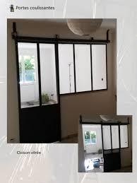 porte coulissante separation cuisine separation cuisine salon vitree maison design bahbe com